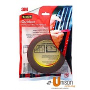Scotch Outdoor Permanent Mounting Tape 10mm x 8m