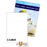 Abba Laserjet Label 210mm x 297mm A4