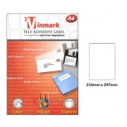 Vinmark Laserjet Label 210mm x 297mm A4