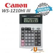 Canon WS-1210Hi III Desktop (12 Digits) Calculator