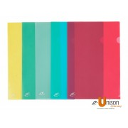 Colour L Shape Folder A4