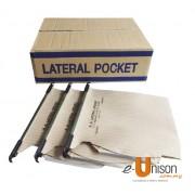 Lateral Filing Pocket