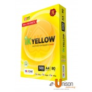 IK Yellow Multi Purpose Paper A4 80gsm 500's