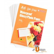 Niso Waterproof Glossy Photo Paper A4 135gsm 100's
