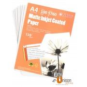 Niso Matte Inkjet Coated Paper A4 110gsm 100's