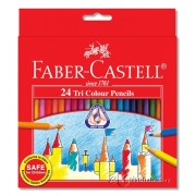 Faber Castell Tri-Grip Coloured Pencil 24's (L)