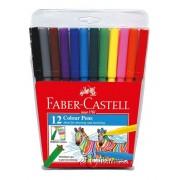 Faber Castell Colour Pen 12's