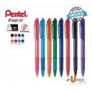 Pentel Ifeel-It Retractable Ballpoint Pen 0.7mm
