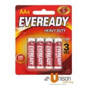 Eveready Heavy Duty Battery AA 4's