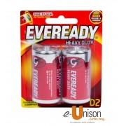 Eveready Heavy Duty Battery D 2's