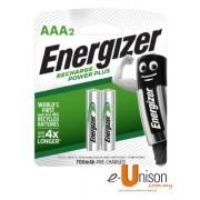 Energizer Recharge Battery AAA 700mAh 2's