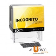 Colop Incognito Self Inking Stamp for Data Protection