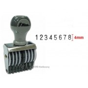 Shiny Numbering Stamp 8 digit