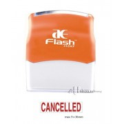 AE Flash Stock Stamp - Cancelled