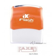 AE Flash Stock Stamp - Faxed