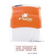 AE Flash Stock Stamp - Overdue