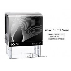Colop P20 Self Inking Stamp
