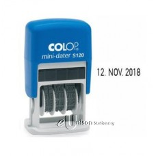 Colop S120 Self Inking Dater Stamp
