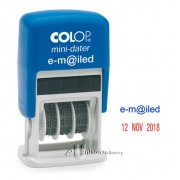 Colop S160 Self Inking Emailed Dater Stamp